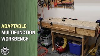 New Multifunction Workbench  D Y MFT For Any Wood Shop