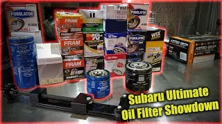 Ultimate Subaru Oil Filter Showdown