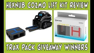 Hexnub Cozmo NEW Lift Kit Review | Trax-Pack Giveaway Winners