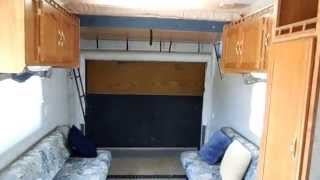 2004 Forest River Wildwood LE 25 SRV Toy hauler Travel Trailer, $10,900