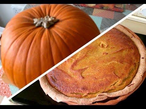 Making Pumpkin Pie (From 'Carving' Pumpkins)