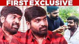 """Simbu Forced Me"" - Vijay Sethupathi on CCV moments & Junga Release tension"
