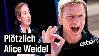 Plötzlich Alice Weidel