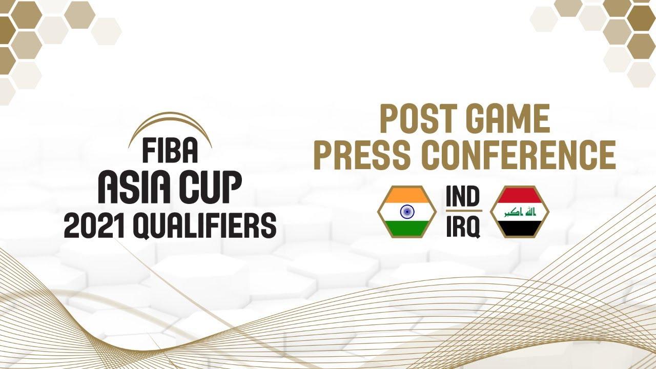 India v Iraq - Press Conference