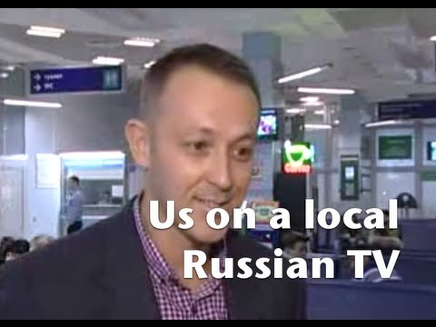 Russian TV report about 56th parallel adventure travel siberia