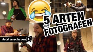😜 📷 5 ARTEN VON FOTOGRAFEN - Welcher bist du? Benjamin Jaworskyj fotografieren lernen