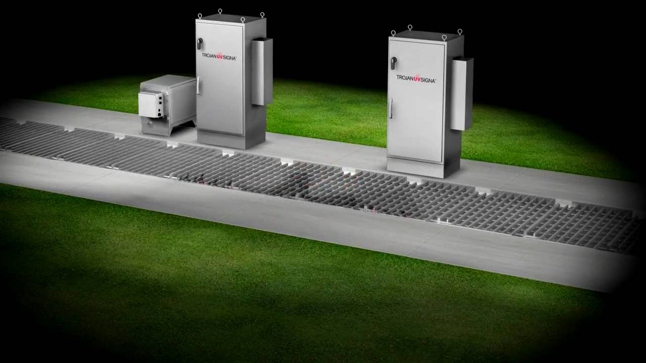 Trojanuvsigna Overview Wastewater Uv Disinfection System