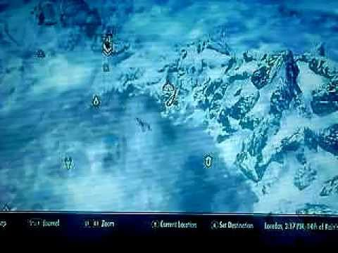 Skyrim ebony ore mine locations