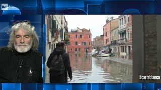 Venezia allagata cartabianca 19 11 2019