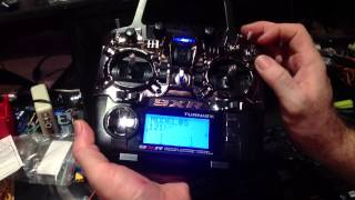 Setting up the El Mod Pro Template using tankER9X on the new Turnigy 9XR Radio