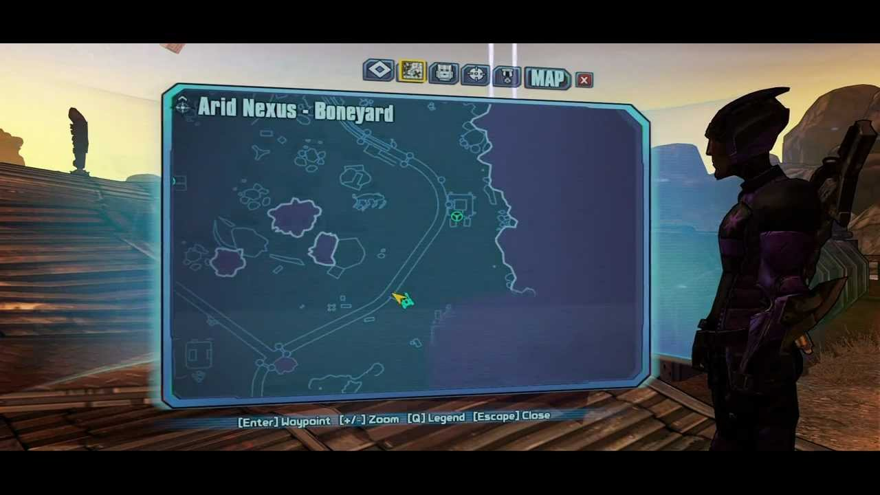 borderlands 2 arid nexus boneyard challenges