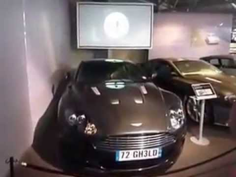 James Bond in Motion exhibition at Beaulieu National Motor Museum