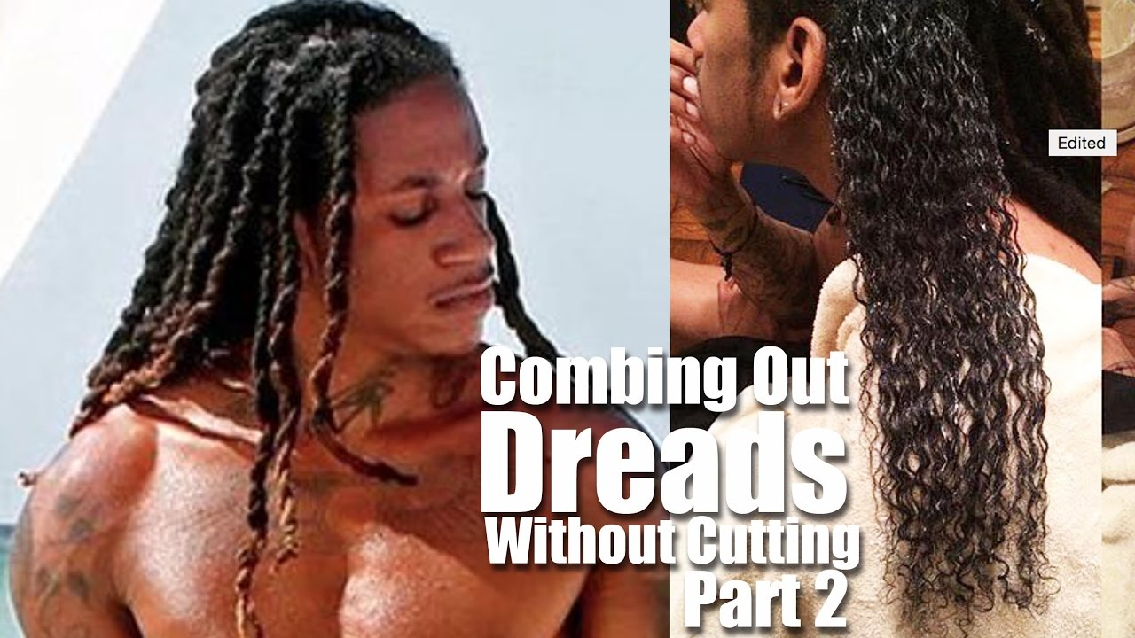 Combing Out Dreads Without Cutting PART 11!  Tutorial
