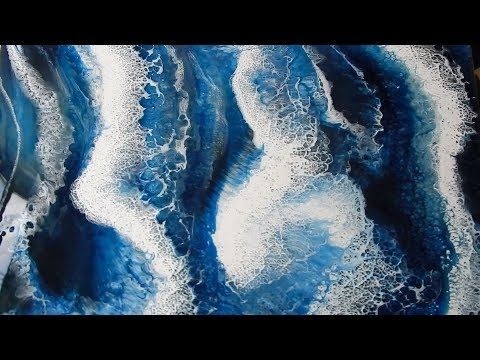 ART RESIN - OCEAN PAINTING!