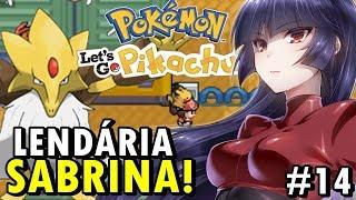 Pokémon Let's Go Pikachu GBA (Detonado - Parte 14) - Sabrina e Ginásio Venenoso