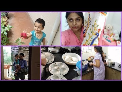 Morning Breakfast To Dinner Routine 2018 || New Saree For Savitri puja /Lots Of Fun With My Baby