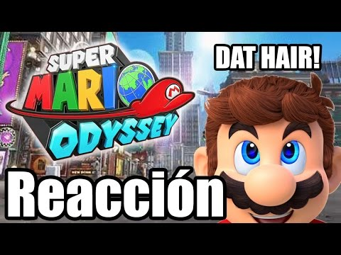 "Reaccionando a ""Mario Odyssey"" - Nintendo Switch Direct [Pt.1]"