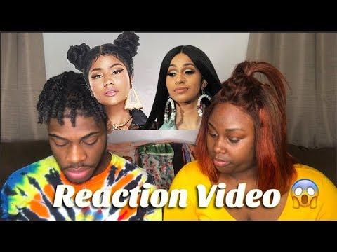 NICKI VS. CARDI THOTIANA REACTION VIDEO
