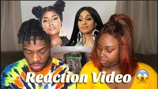 NICKI VS. CARDI THOTIANA REACTION VIDEO