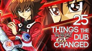 Yu-Gi-Oh GX: 25 THINGS the English Dub CHANGED/CENSORED