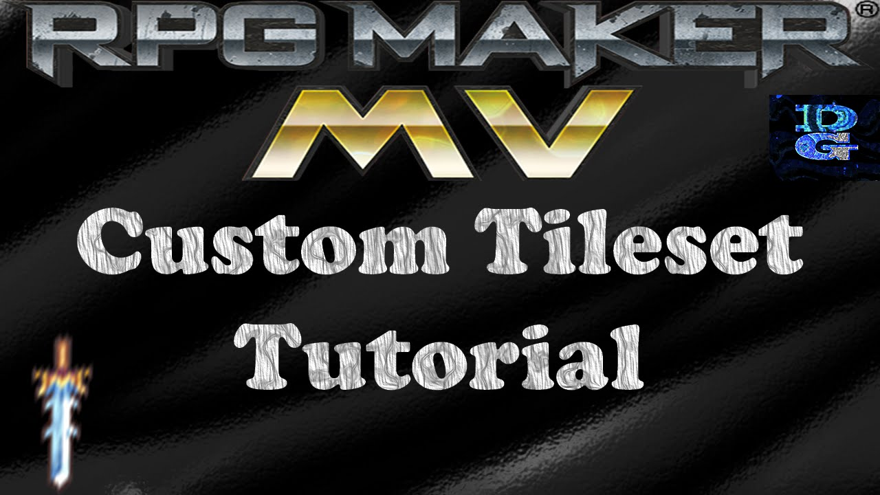 RPG Maker MV Custom Tileset Tutorial - YouTube