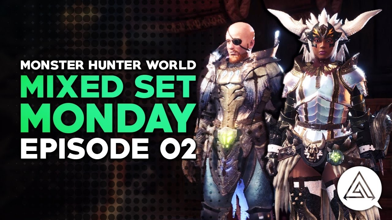 Monster Hunter World | Mixed Set Monday #02 - High Damage Great Sword &  Anti-Kirin Builds