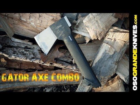 Gerber Gator Combo Axe and Knife Overview | OsoGrandeKnives