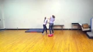 Stage combat acting~Girl fight: Vegetarian vengence