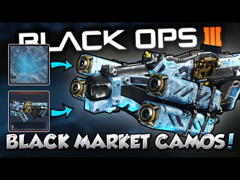 """*NEW* ALL BLACK MARKET CAMOS ON """"DLC WEAPONS"""" TUTORIAL! (Black Ops 3 Camo Glitch)"""