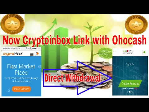 ATC COIN new withdrawal Option in cryptoinbox || now very simply transfer ATC coin on Ohocash