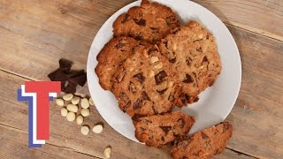 Gluten & Dairy Free Rich Chocolate Nut Cookies I Yum In The Sun
