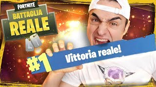 FORTNITE BATTLE ROYALE - Sono stufo della Vittoria Reale. | Gameplay Fortnite Ita