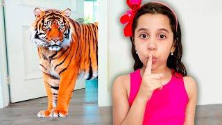 SARAH realmente QUER TER um ANIMAL DE ESTIMAÇÃO / Children really want to have a pet