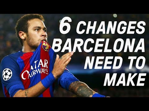6 Ways Barcelona Can Become Great Again