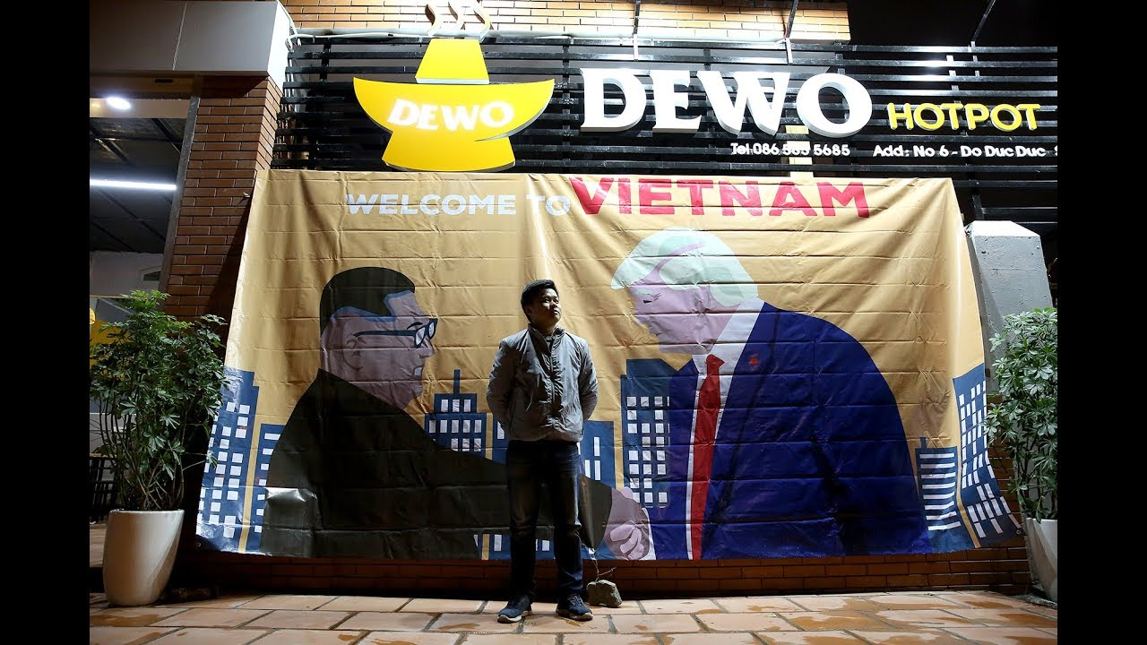 Cashing in on the Trump-Kim fever