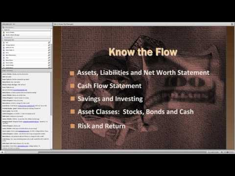 Know the Flow - My Money and Me (Part 1 of 4)