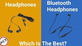 Which is the Best headphones|| wired headphones|| Bluetooth headphones
