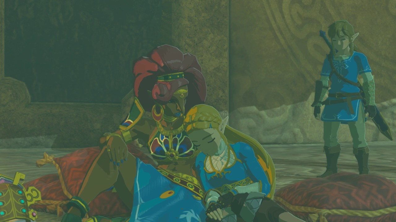 How to get into gerudo town in legend of zelda