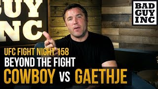Will Conor McGregor fight the winner of Cowboy vs Justin Gaethje?