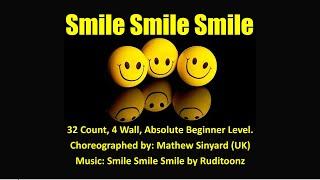 Smile Smile Smile Absolute Beginner Line Dance