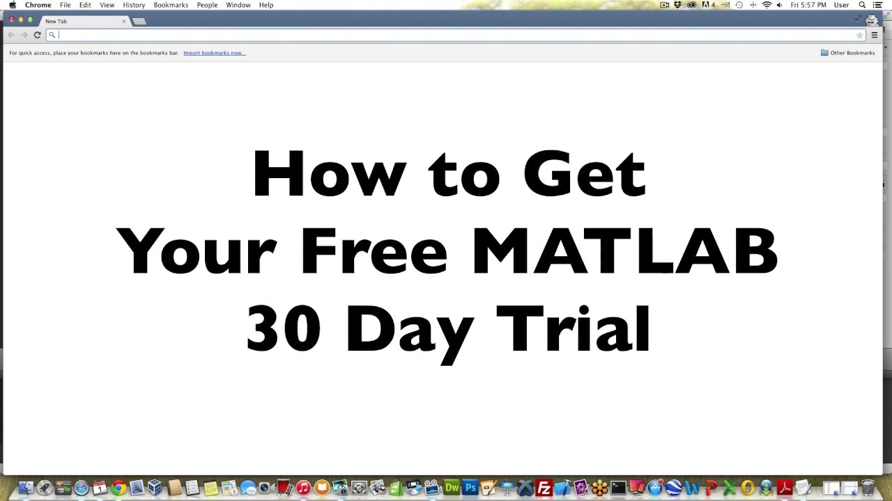 Secrets to Getting a Free 30-day Trial of MATLAB