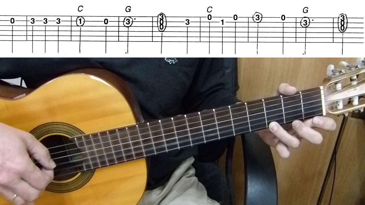 POPEYE THE SAILOR MAN: Easy Guitar Lesson + TAB by ... |Popeye Guitar