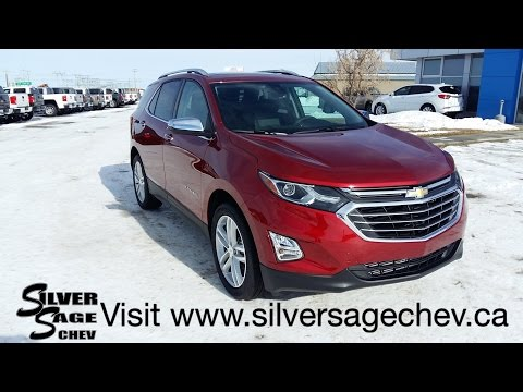 Stock# T18101 The All-New 2018 Chevrolet Equinox in Premier trim AWD & Cajun Red Tintcoat