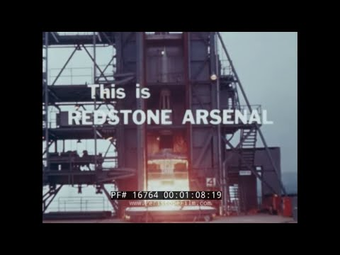 """"""" THIS IS REDSTONE ARSENAL """"  1962 U.S. ARMY MISSILE COMMAND  HUNTSVILLE, ALABAMA 16764"""