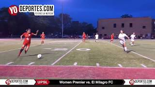 Women Premier vs. El Milagro FC United Premier Soccer League