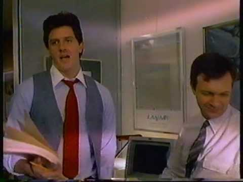 1984 IBM Smart Desk computer commercial. Featuring actor Sam McMurray.