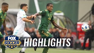 Portland Timbers vs. Seattle Sounders | 2018 MLS Highlights