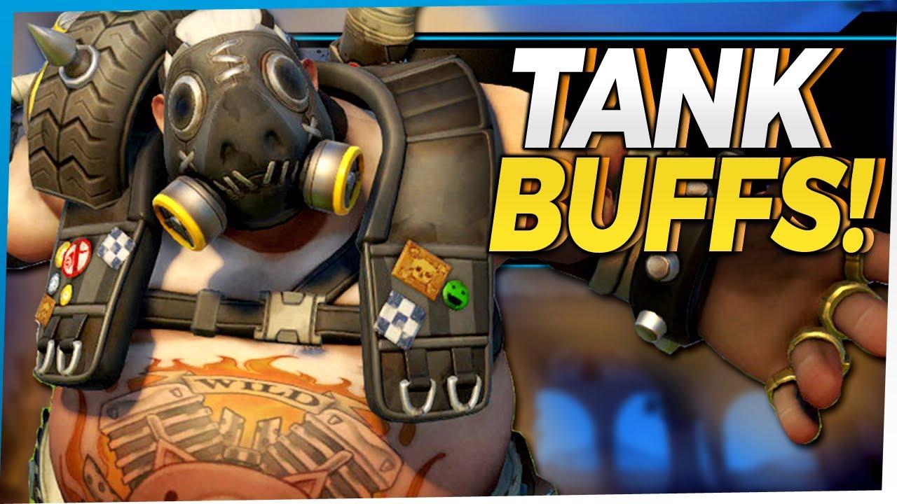 Overwatch Tank and Healer Buffs