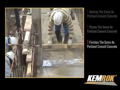 KEMROK Cement For Corrosion Resistant Concrete