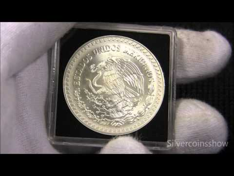 1998 Mexican Libertad (Key Date) Silver coin